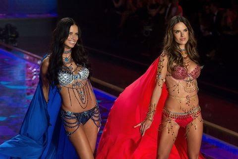 <p>The Dream Angels Fantasy Bras, $2 million each.</p>&#8220;/></figure>    <p>Alessandra Ambrosio and Adriana Lima in fantasy bras &#8211; Getty</p>    <figure class=