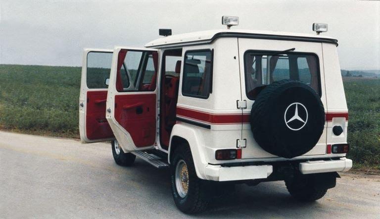 Very rare 1979 Mercedes-AMG 280 GE 5.6 Sport G-Wagen
